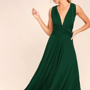 Lulu's Convertible Maxi Dress